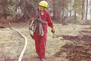 Forest fire response.
