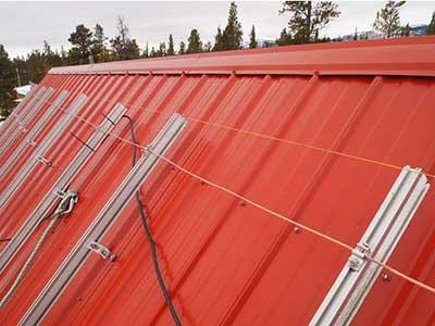 LMCC pavilion solar project cable