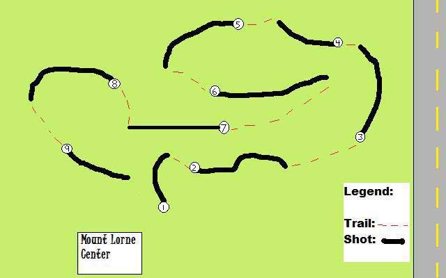 Disc Golf Course Map
