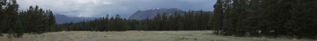 View from Annie Lake Golf Course