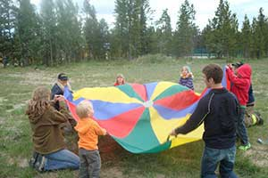 Parachute and Parachute Play Kit