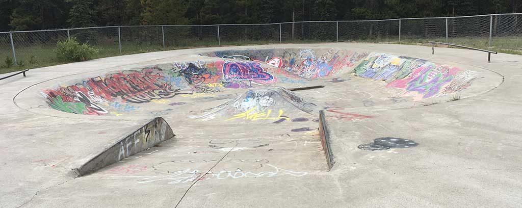Skateboard Park at LMCC.