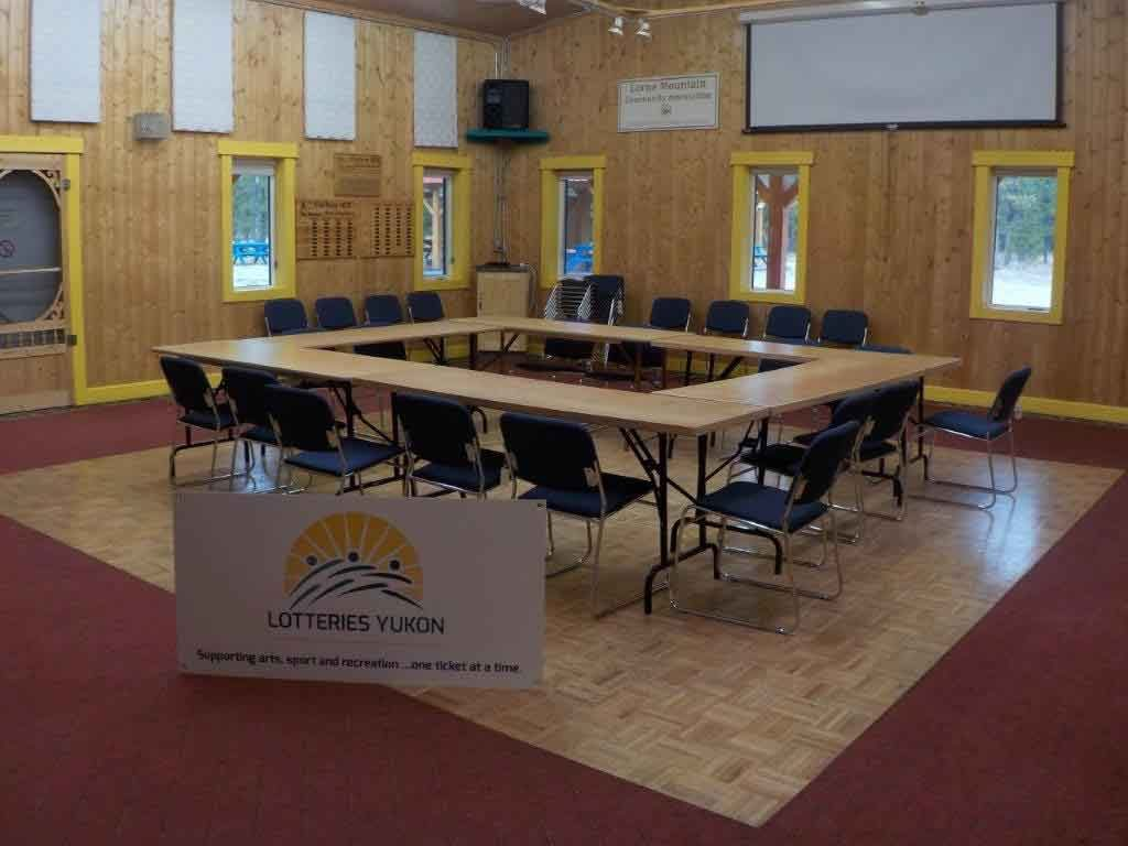 New chairs at LMCC thanks to Lotteries Yukon!