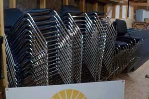 New chairs at LMCC