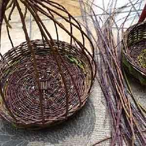 Willow Weaving Retreat on the Wheaton